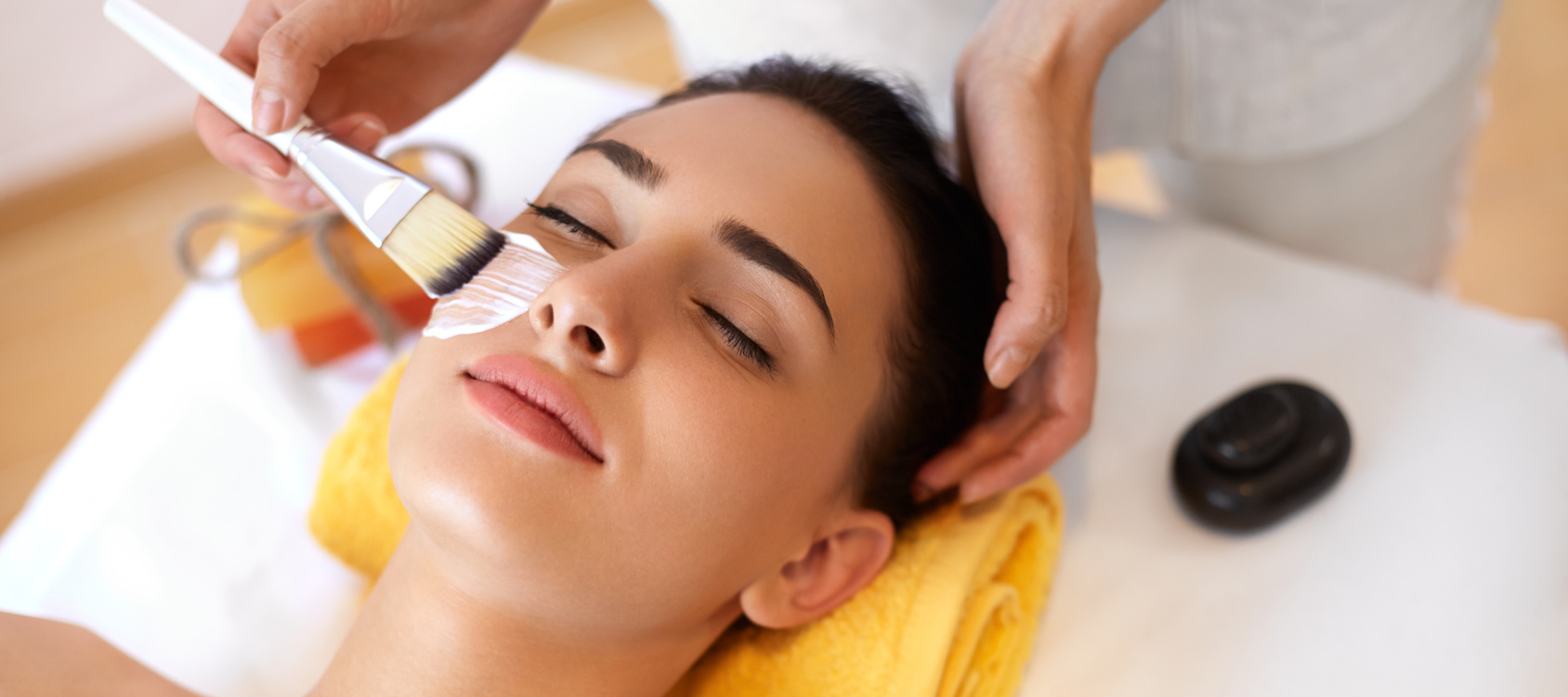 Day spa skin care services